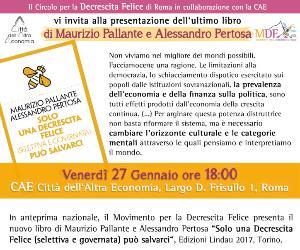 Locandina: Presentazione del nuovo libro di Maurizio Pallante