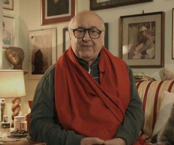 """Locandina: Elio Pandolfi in """"Forse non mi presento!"""" Conversando con Pino Strabioli"""