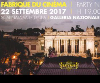 Locandina evento: Fabrique du Cinéma