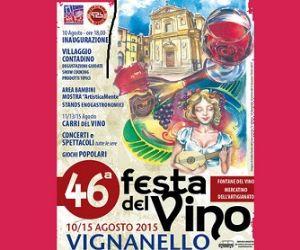 Locandina evento: Festa del vino