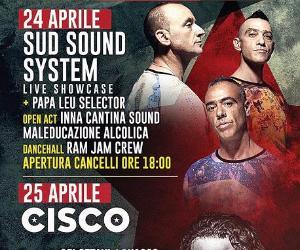 Locandina: Sud Sound System e Cisco