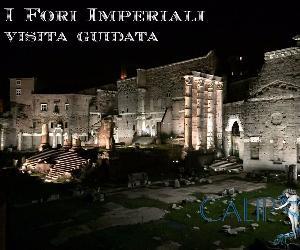 Locandina evento: I Fori Imperiali illuminati