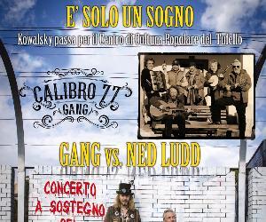 Locandina: La Gang e Ned Ludd in concerto