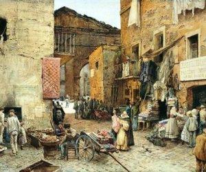 Locandina: La nascita del Ghetto e il Rione Sant'Angelo