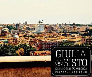 """Locandina evento: """"GIUSTO - GIANICOLO IN MUSICA"""""""