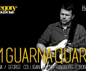 Locandina evento: Tom Guarna Quartet feat. Roberto Gatto