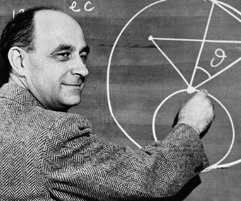 Locandina: Roma celebra gli ottanta anni di Enrico Fermi