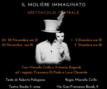 Spettacoli - Poquelin: il Molière immaginato