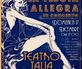 Spettacoli - La Vedova Allegra in concerto