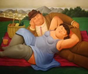 Locandina: Visita alla mostra di Botero al Vittoriano