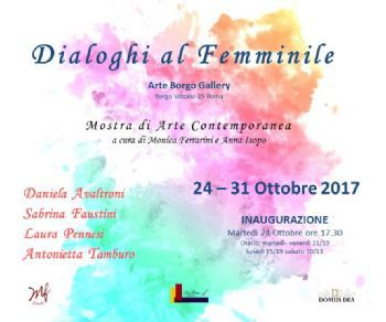 Locandina evento: Dialoghi al Femminile