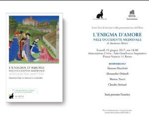 Locandina: L'enigma d'amore nell'Occidente Medievale