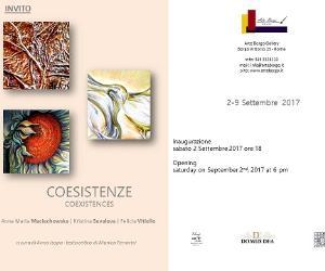 Locandina evento: Coesistenze