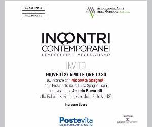 Locandina evento: Incontri contemporanei