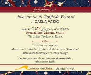 Locandina evento: Autoritratto di Goffredo Petrassi