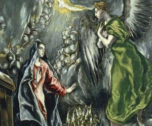 Locandina: L'Annunciazione de El Greco ai Musei Capitolini