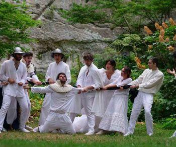 Locandina: Labirinto d'Amore, Orlando Furioso nel Parco Chigi in Ariccia