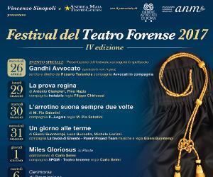 Locandina: Festival del Teatro Forense