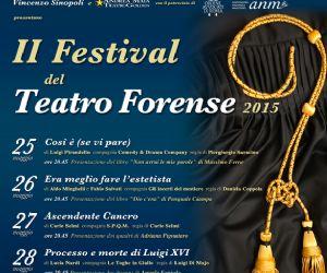 Locandina evento: Festival del Teatro Forense