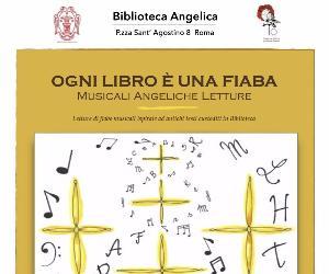 Locandina: Ogni libro è una fiaba - Musicali Angeliche Letture