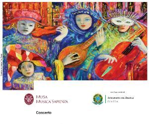 Locandina: Vecchie storie di Carnevale alla Sapienza - IV edizione