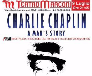 Locandina evento: Charlie Chaplin – a man's story
