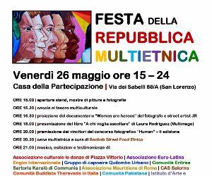 Locandina: Festa della Repubblica Multietnica