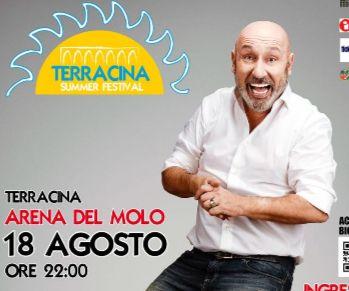 Locandina: Maurizio Battista a Terracina