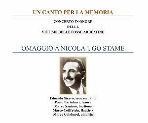 Dedicato alla figura del grande tenore lirico, Nicola Ugo Stame