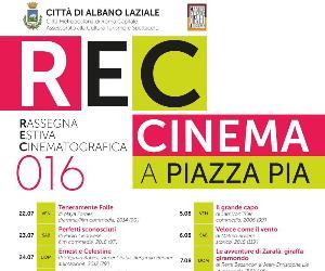 Locandina: Rec016 - Cinema a Piazza Pia e Festival del Cortometraggio