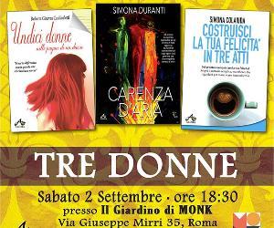 Locandina: Presentazione dei libri di Ginevra Roberta Cardinaletti, Simona Colaiuda e Simona Duranti