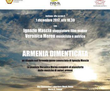 Locandina evento: Armenia dimenticata. Un viaggio nell'Armenia meno conosciuta