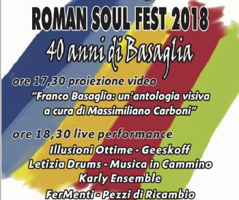 Locandina: Roman Soul Fest 2018 (II edizione)