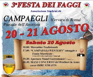 Locandina: 3^ Festa dei faggi e sagra dello strozzaprete