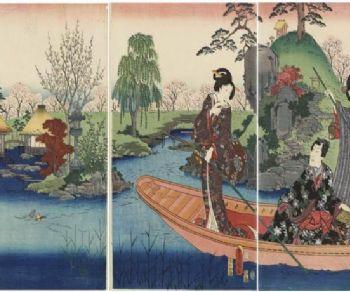 Locandina: Hiroshige. Visioni dal Giappone