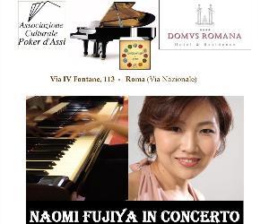 Locandina: Naomi Fujiya in Concerto