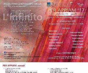 "Festival - Per Appiam 2017  ""Profondissima Quiete"""