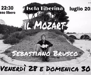 Locandina: Il Mozart di Sebastiano Brusco