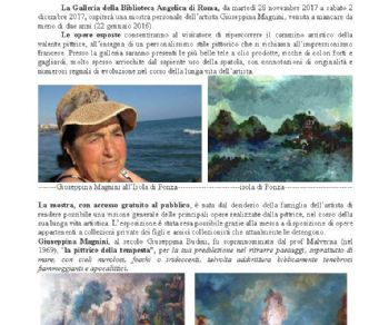 Mostre - Personale di pittura di Giuseppina Magnini