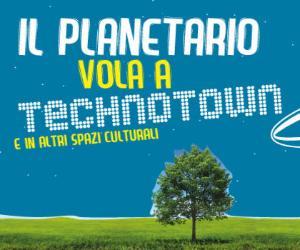 Locandina: Programma del Planetario del mese di Aprile 2017