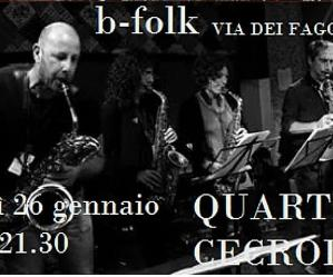 Locandina: Jo jazz presenta Quartetto Cecrolla in concerto