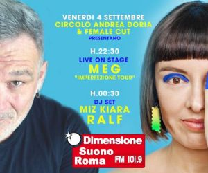 "Locandina evento: Meg ""Imperfezione Tour"" + Dj Ralf"