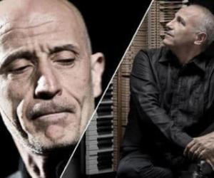 """Locandina: Peppe Servillo e Danilo Rea in """"Improvvisazioni Napoletane"""""""