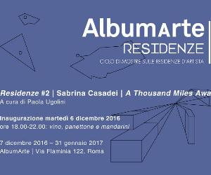 Locandina evento: Sabrina Casadei. A Thousand Miles Away