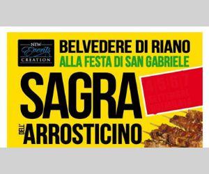 Locandina evento: Sagra dell'arrosticino a Belvedere Riano (RM)