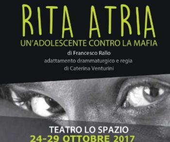 Locandina evento: Rita Atria - Un'adolescente contro la mafia