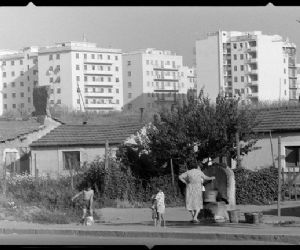 Locandina: Italo Insolera, il bianco e nero delle città. Immagini 1951-1984