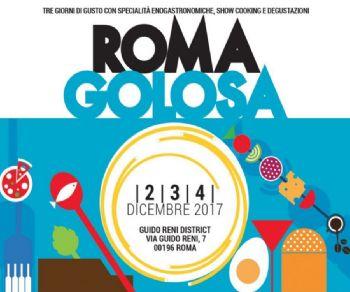 Locandina evento: Roma Golosa