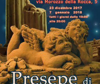 Locandina evento: Presepe di Sabbia a Casal Bertone