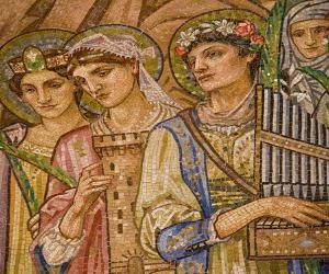 Locandina: La chiesa anglicana di San Paolo entro le mura